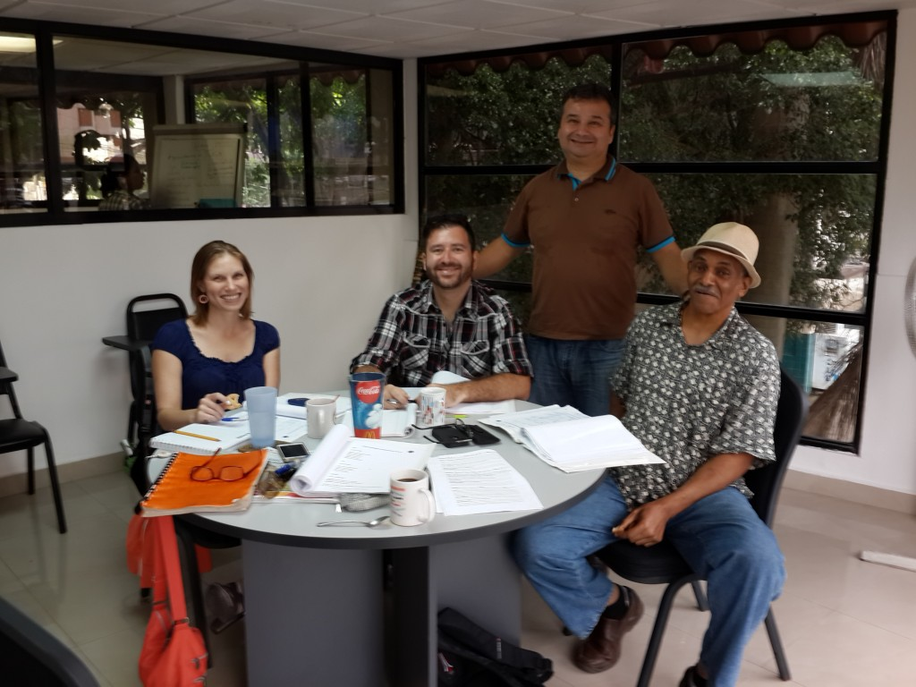 Group classes at Panama Spanish school in El Cangrejo