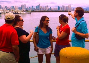 Students Mike Joseph Water Panama City tours