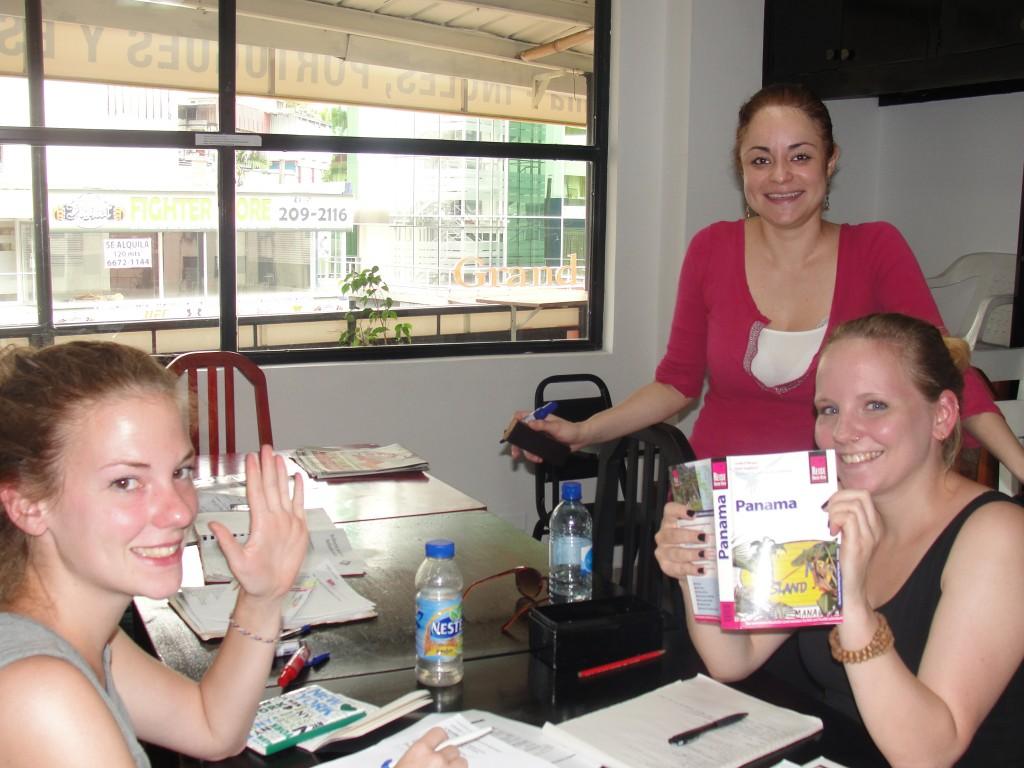 Culture shock works 2 ways. Learn Spanish in Panama