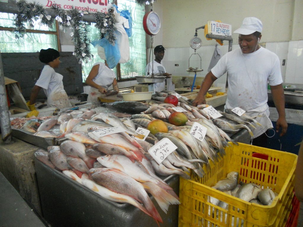 Fish market Panama Spanish Panama