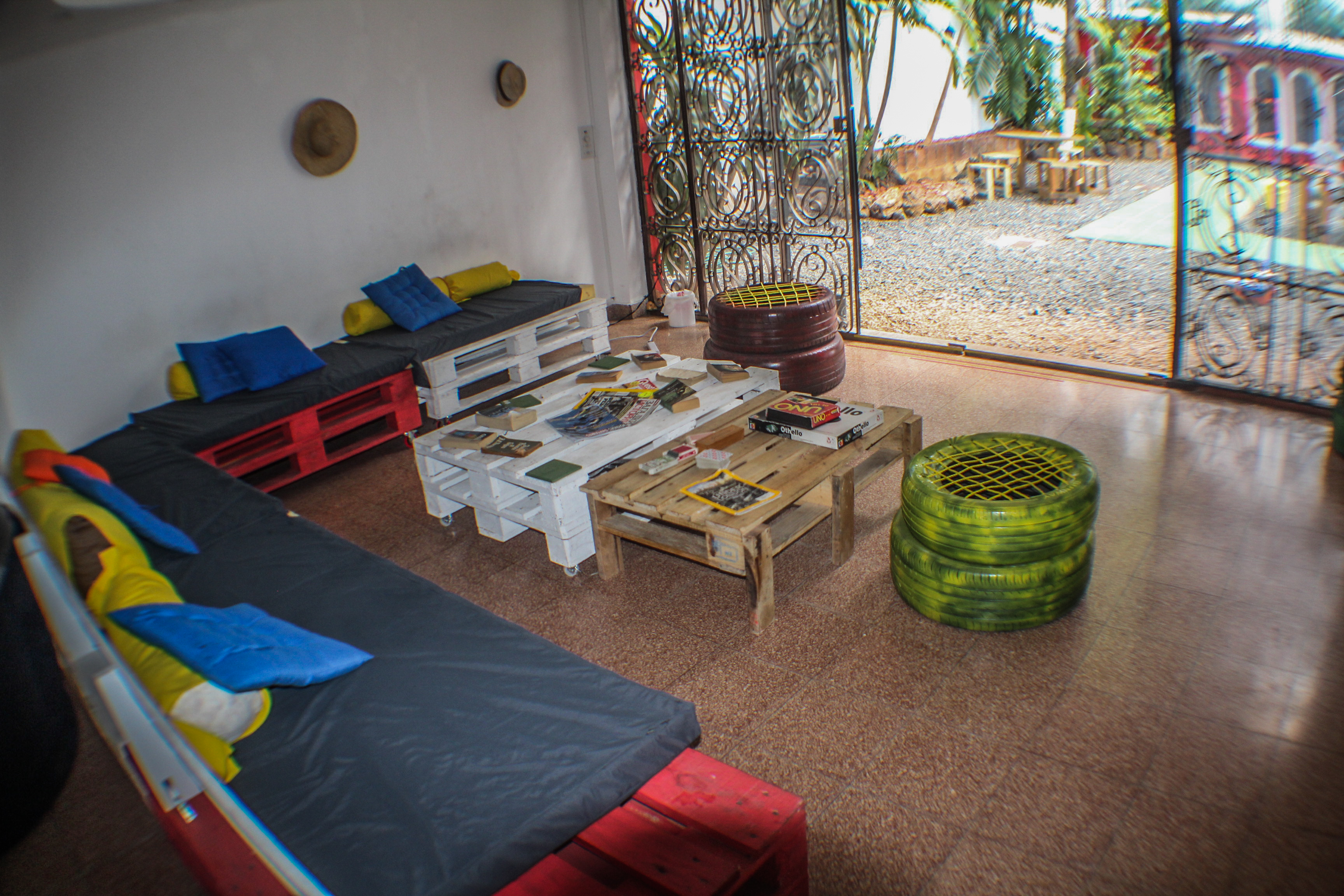 Spanish Panama hostel partners . Accommodations at our Spanish school includes hostel shared dorm with A/C and breakfast.