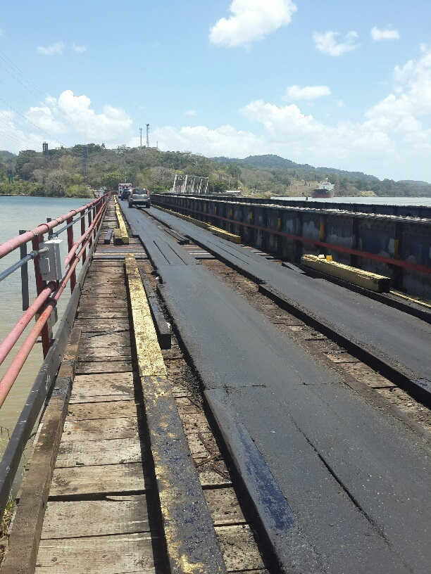 Gamboa Panama Old bridge soon to be replaced by a modern bridge bringing greater value to Gamboa properties. Old bridge will then only be used by ACP.