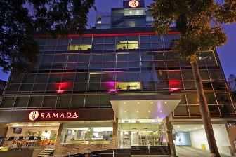 Ramada Hotel on Via Argentina is 2 doors away from Spanish Panama language school www.spanishpanama.com