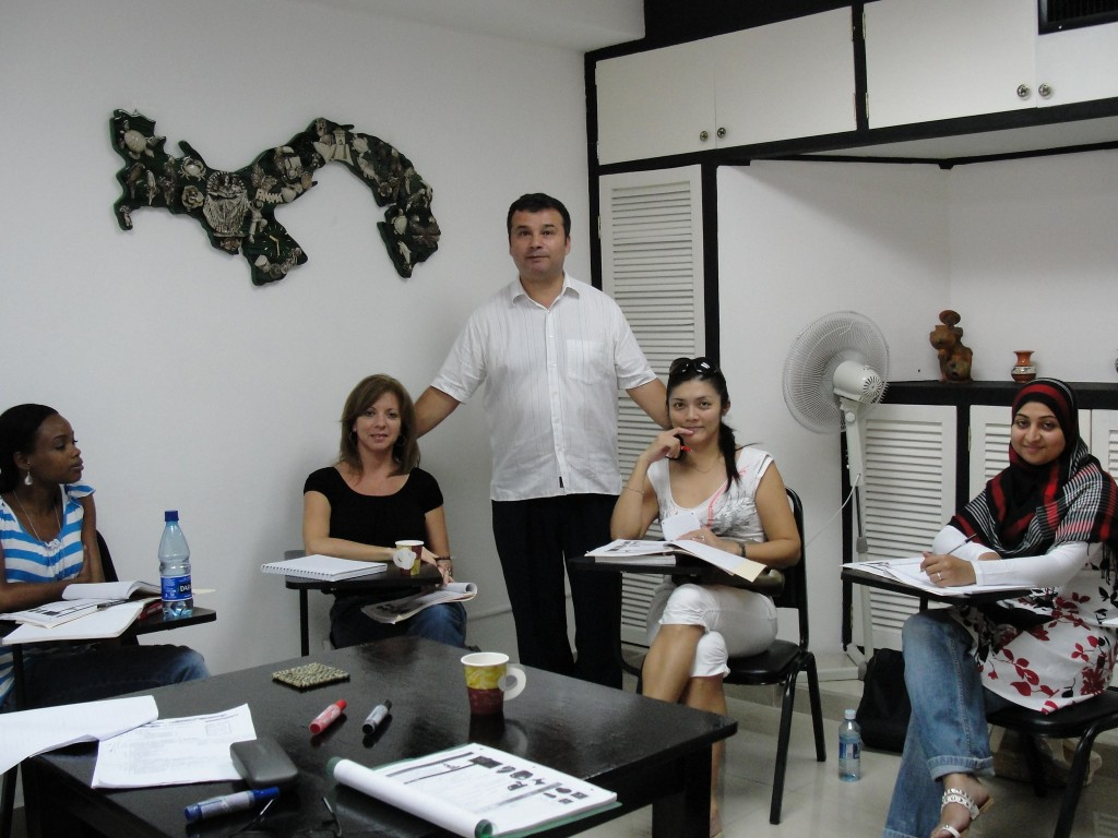 Group Classes - Spanish Panama