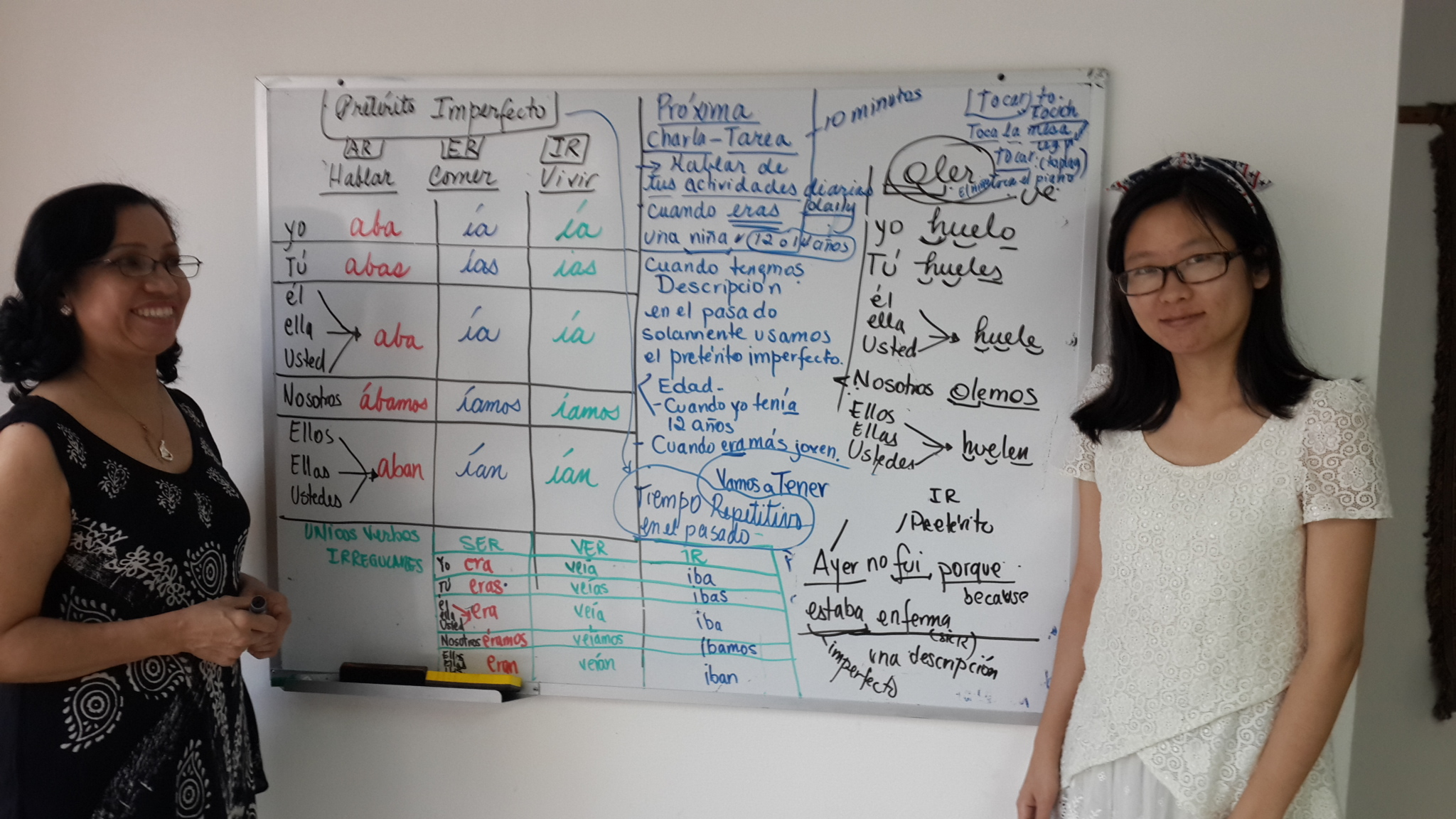 Professional Personalized Spanish courses