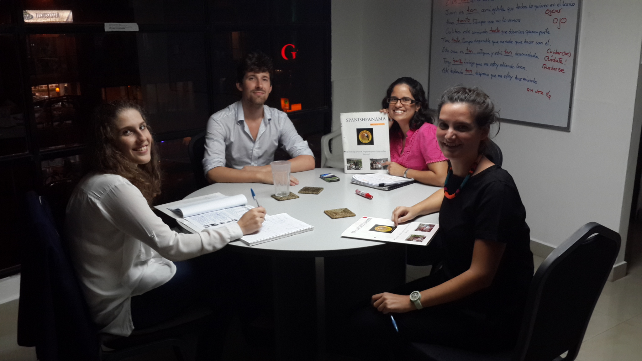 Group Spanish classes morning, afternoon, or night