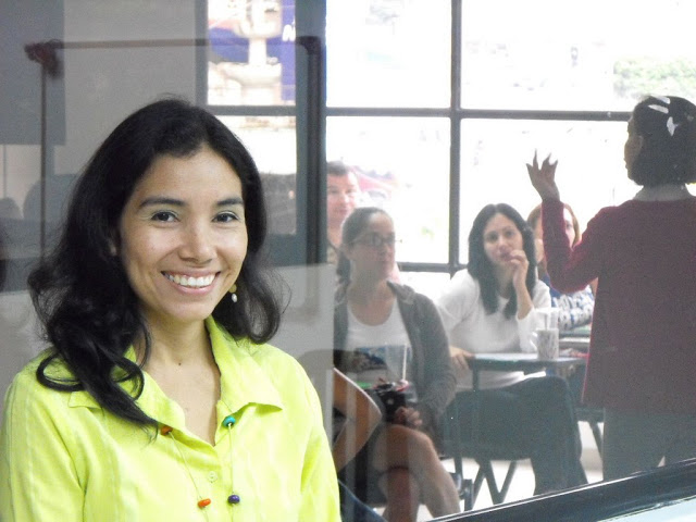 An instructor ready to help you learn Spanish abroad