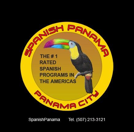Spanish Panama Spanish school tucan logo