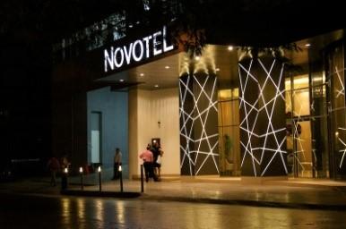 Hotels El Cangrejo walking distance from Spanish Panama. Novotel Panama City