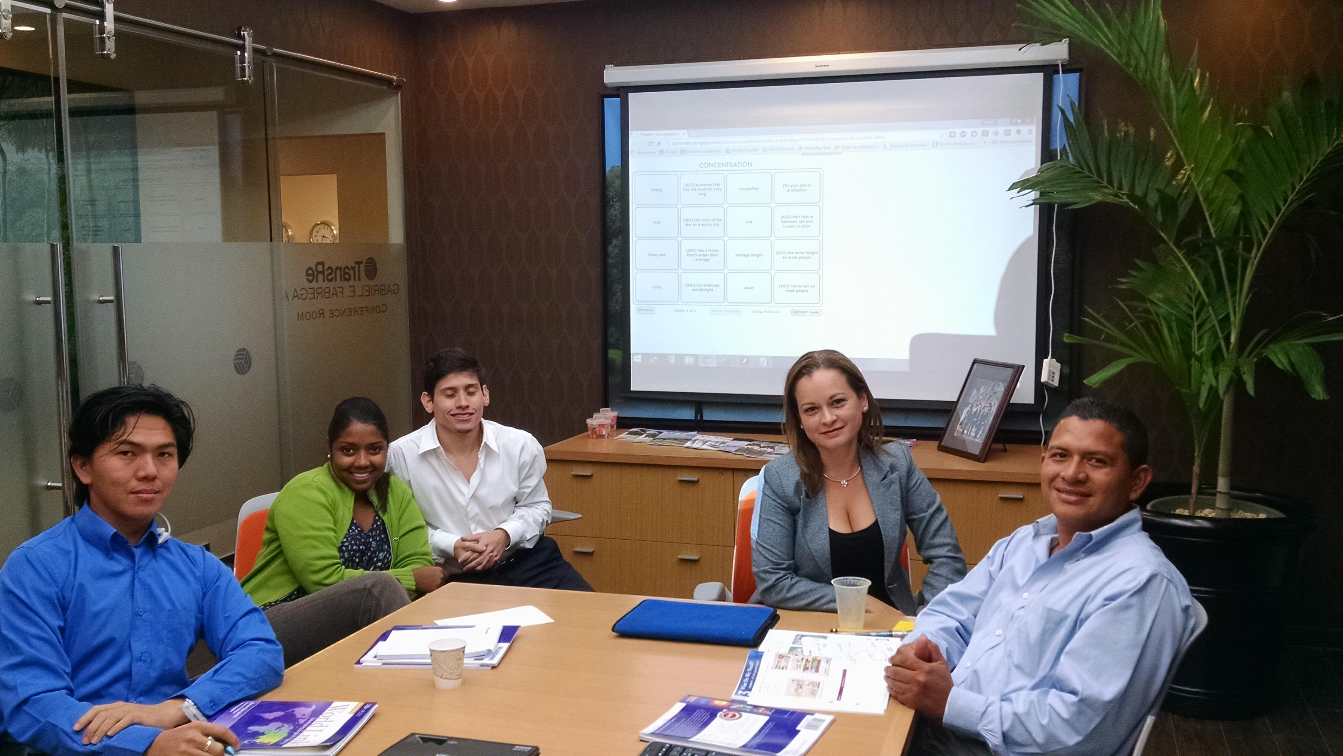 Cursos de inglés en su oficina y clases de inglés en SpanishPanama, Via Argentina, El Cangrejo, Panama www.cursosdeinglespanama.com.pa