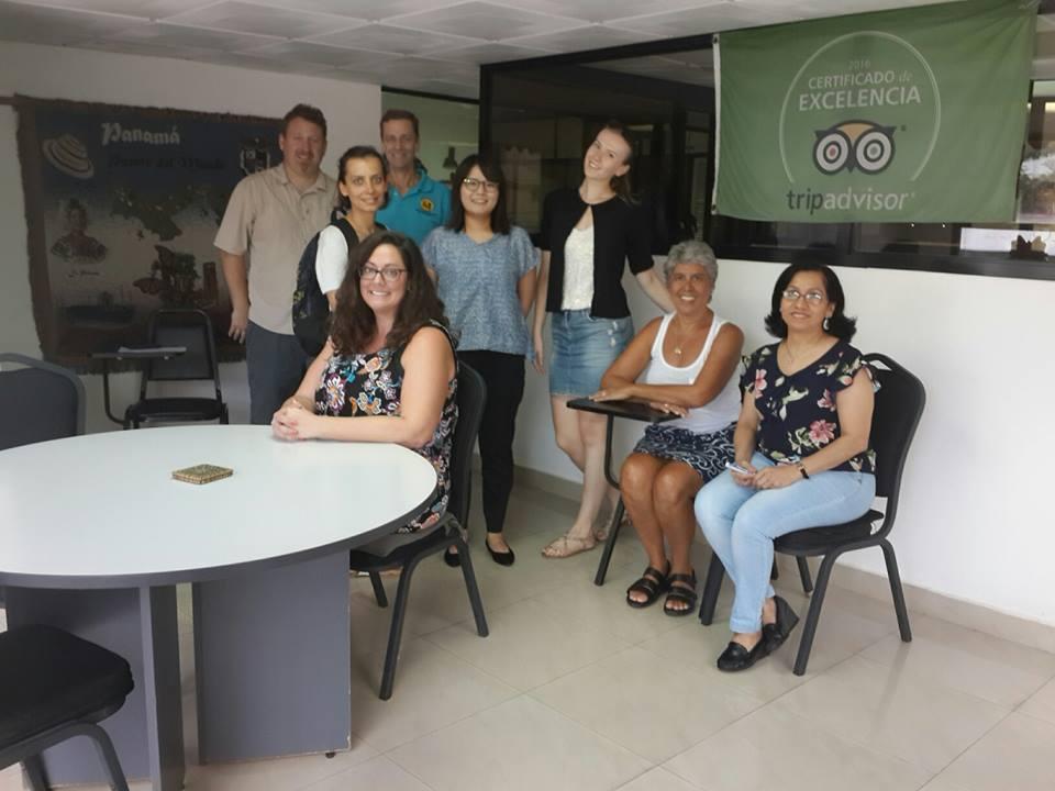 Conversational Spanish classes in international language school www.SpanishPanama.com