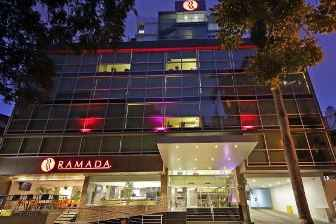 Ramada Hotel on Via Argentina is 2 doors away from Spanish Panama language school www.spanishpanama.com
