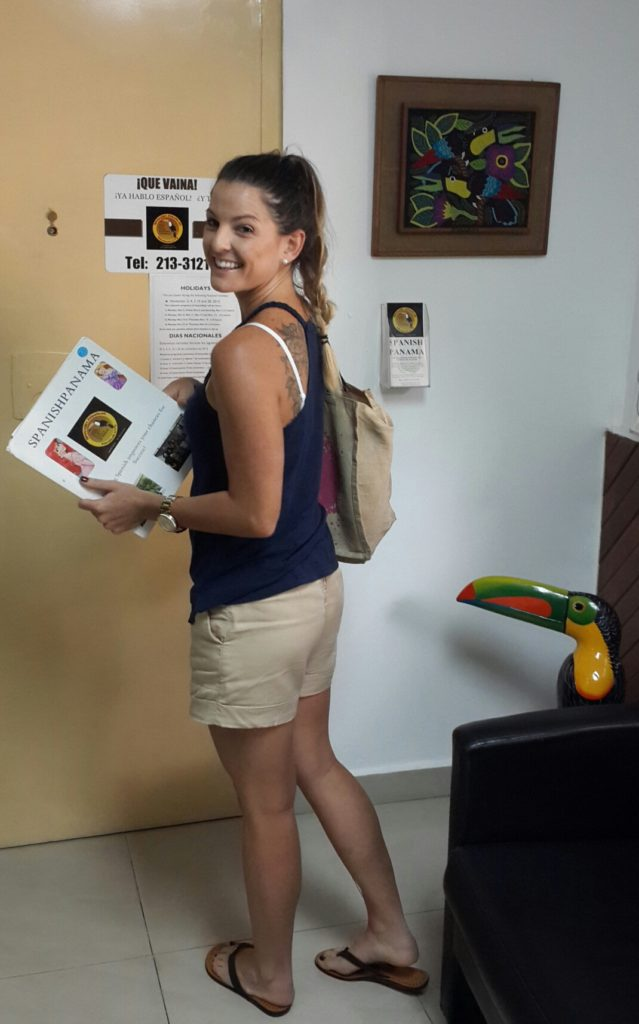 "Just finished my personalized Spanish class in Panama. ""¡Hasta luego!"" www.spanishpanama.com"