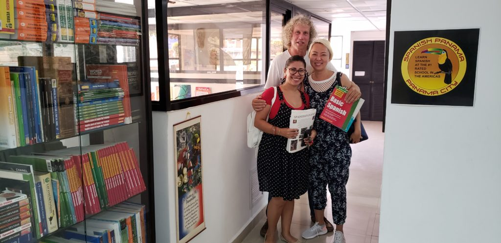 Spanish students have been learning to speak Spanish at Spanish Panama Language School since 2002